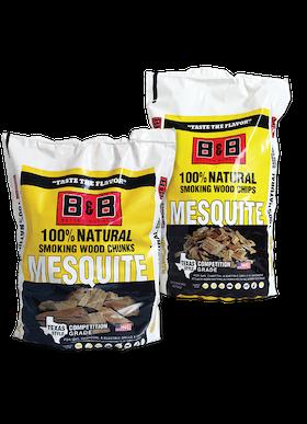 B&B Mesquite Chunks 2 kg