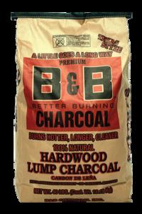 B&B Hardwood Lump Charcoal 18 kg