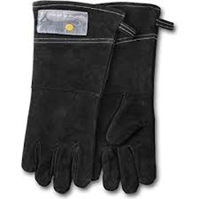 Outset Grillhandskar i Läder (svarta)