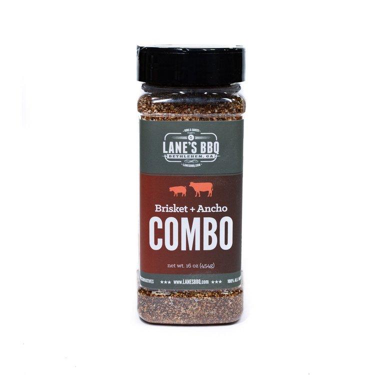Combo Rub: Brisket + Ancho - Lane's BBQ