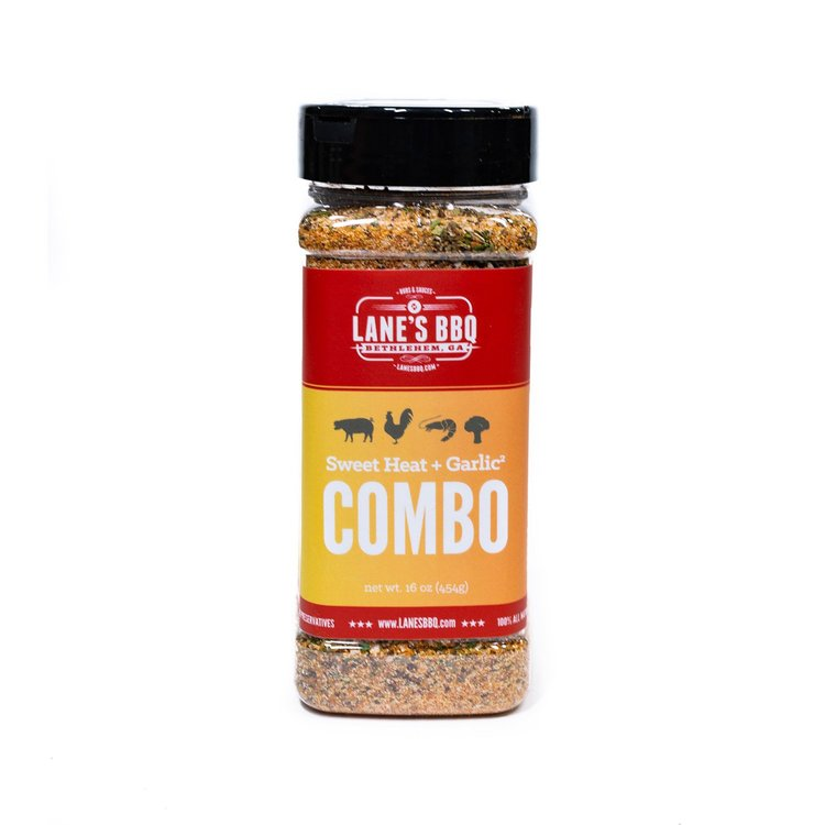 Combo Rub: Sweet Heat + Garlic² - Lane's BBQ