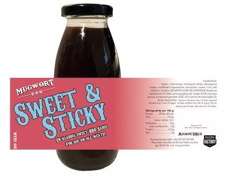 Mugwort Sweet & Sticky Sauce