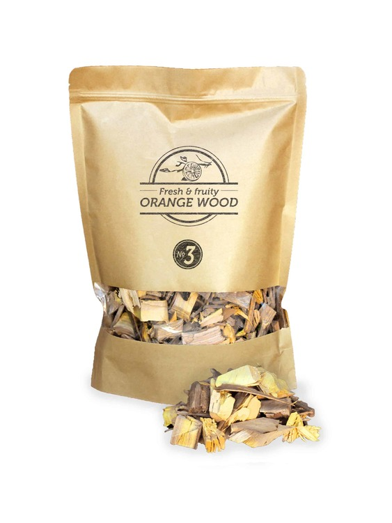 Orange Wood Chips Nº3