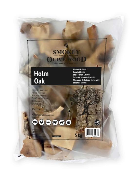 Holm Oak Chunks 5 kg