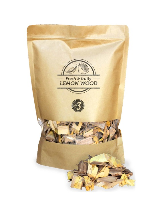 Lemon Wood Chips Nº3