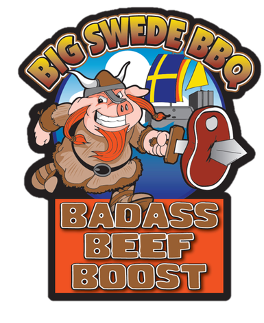 Big Swede BBQ Badass Beef Boost (340 g)