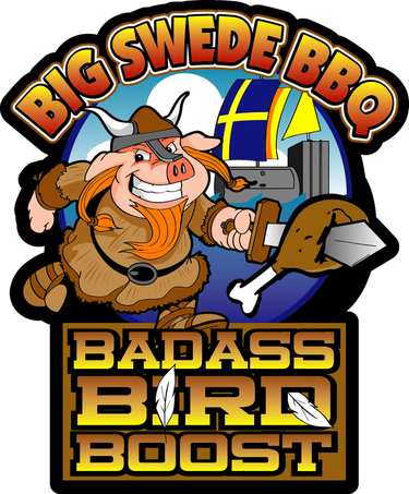 Big Swede BBQ Badass Bird Boost Rub