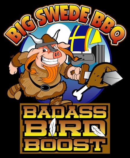 Big Swede BBQ Badass Bird Boost (340 g)