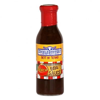 Sucklebuster Peach BBQ Sauce (354 ml)