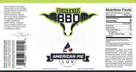 Fergolicious American Pie Luv (335 g)
