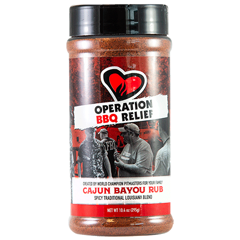 Operation BBQ Relief Cajun Bayou (295 g)