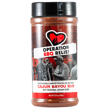Operation BBQ Relief Cajun Bayou (295 g)