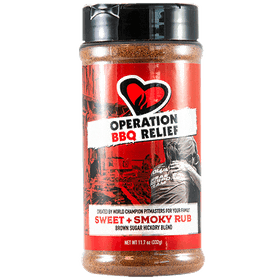 Operation BBQ Relief Sweet and Smoky (332 g)