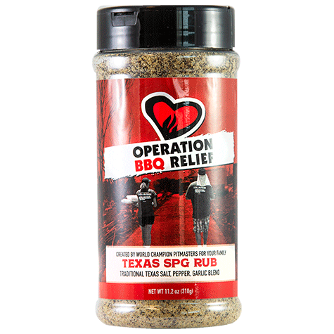 Operation BBQ Relief Texas SPG (318 g)
