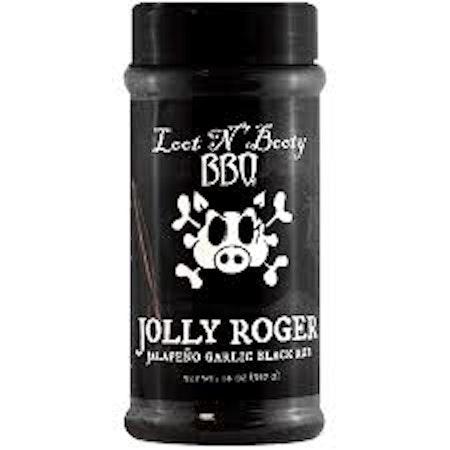 Loot N´Booty Jolly Roger Jalapeno Garlick Black (397 g)