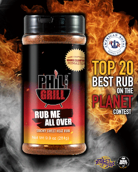 Phil the Grill Rub Me All Over (281 g)
