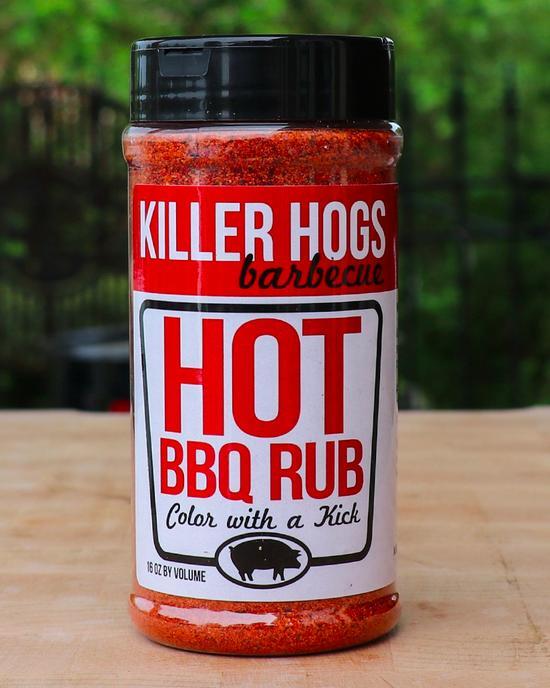 Killer Hogs Hot BBQ Rub