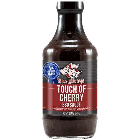 Three Little Pigs Touch of Cherry BBQ (607 g)