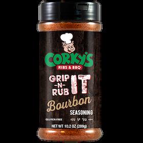 Corky's Grip It N Rub Bourbon Seasoning (289 g)