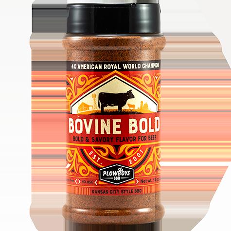 Plowboys Bovine Bold BBQ Rub (340 g)
