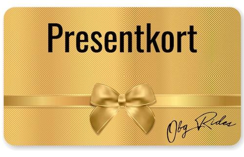 Presentkort 4000kr