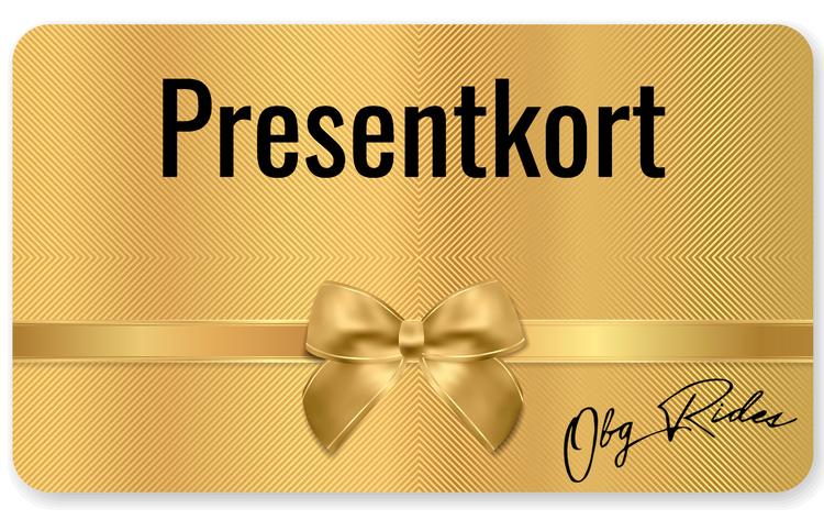 Presentkort 8000kr