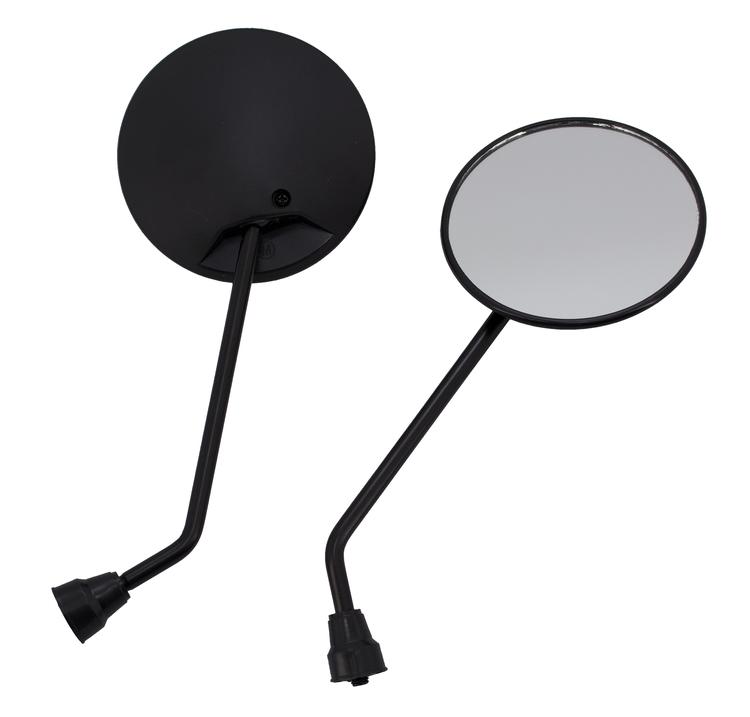 Backspegel svart