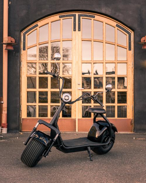 OBG Rides Elscooter V1 *FÖRHANDSBOKNING*