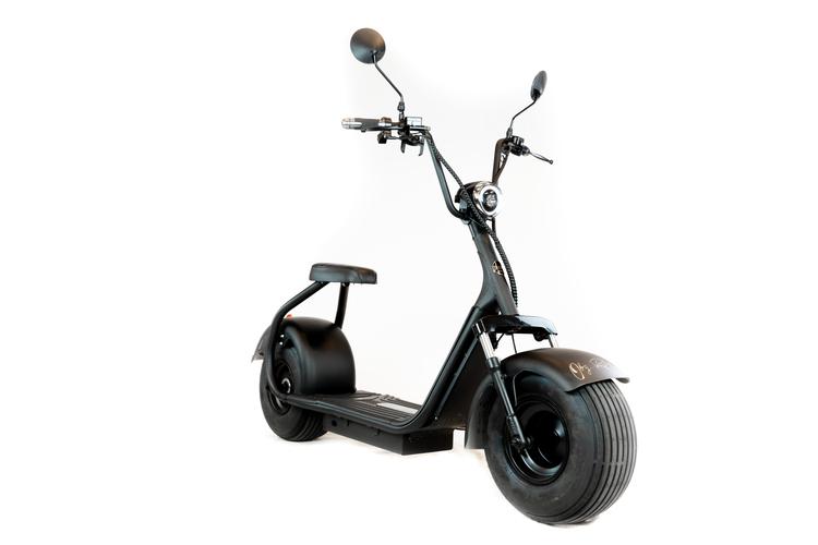 OBG Rides Elscooter V1 2000W EXTREME Stötdämpare  *NYHET*