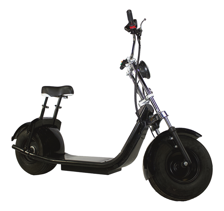 OBG Rides Scooter