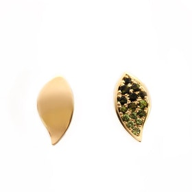 Leaf earrings mini