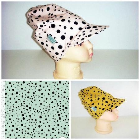 Tyg till mepsar Leopard Dots, färgcollage