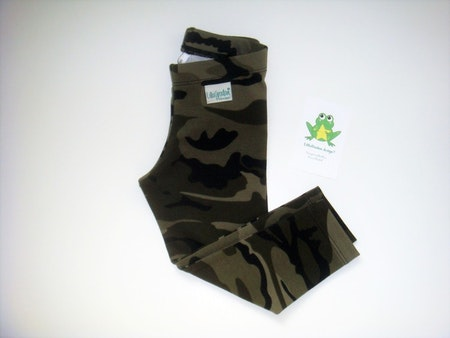 Leggings i Camo, Grön, Ökotex #L462