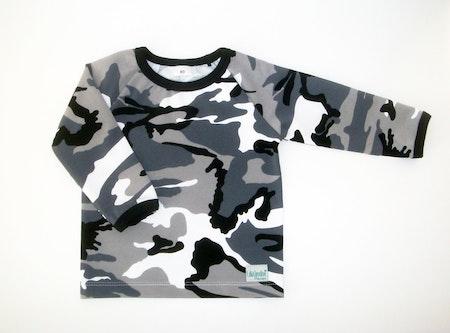 Tshirt i Camotyg, Grå, Ökotex #TS461