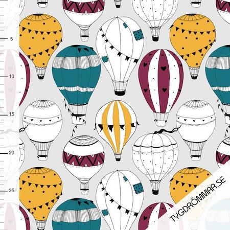 Mössa i tyg med luftballonger