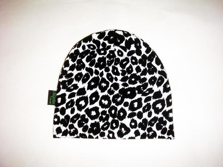 Leopard Vit/Svart - Mössa