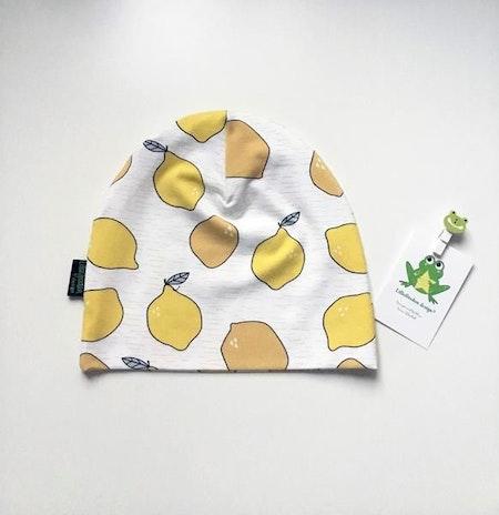Baggymössa med citroner