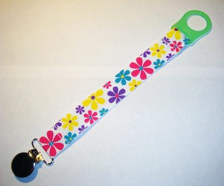 Napphållare med blommönster - Retroblom #N20