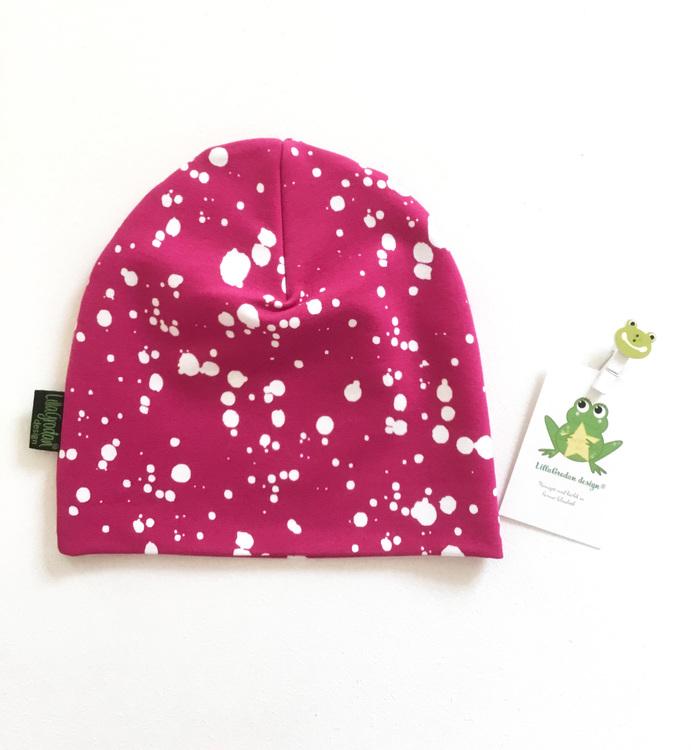 Splatters Fuchsia - Mössa