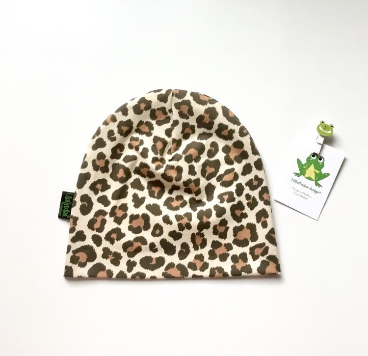 Leopard Beige - Mössa