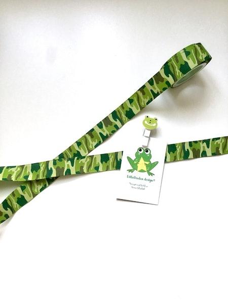 Band till Napphållare - Camo Grön #N150