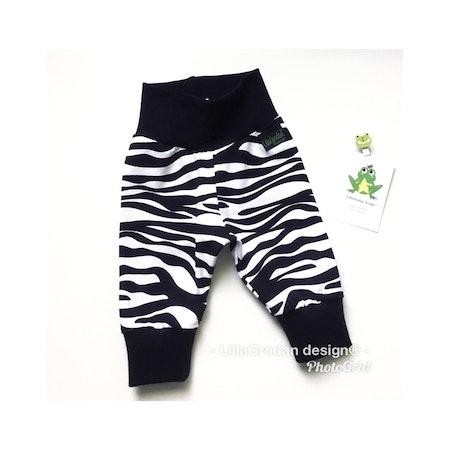 Joggingbyxa - Zebra #164, ökotex (här i strl 56)