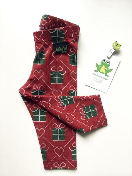 leggings -JUL - Julklappar #L563-L, Leveransklart