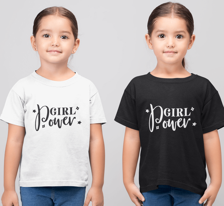 Tshirt med tryck, Girl Power