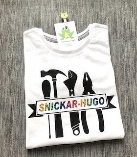 T-shirt med Monogram - Välj motiv
