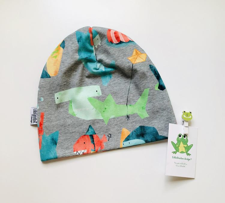 Hajar, Gråmelerad - Mössa