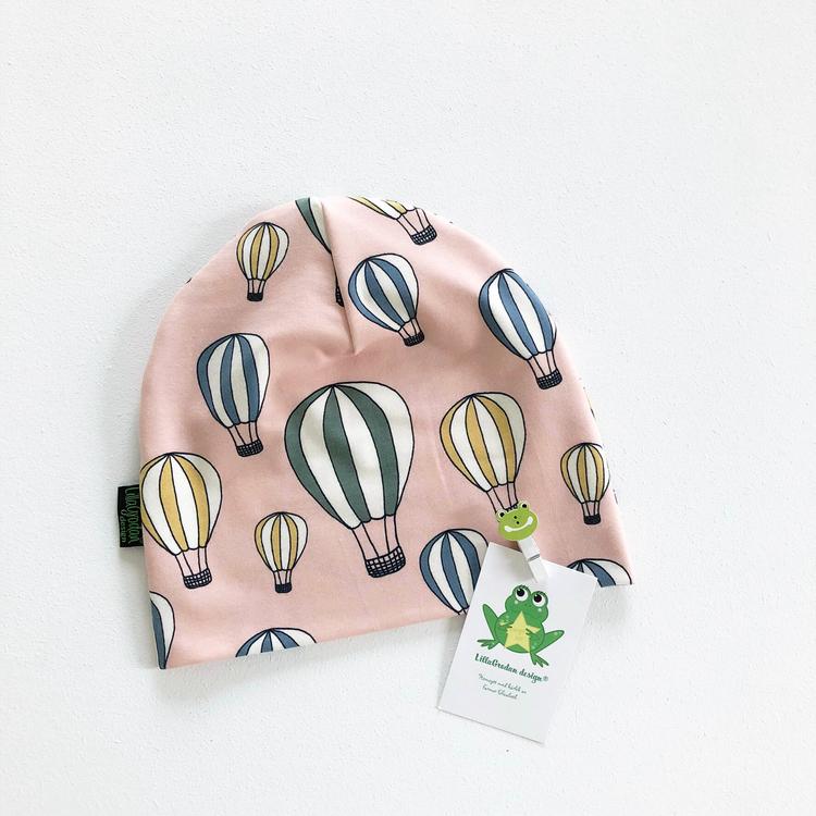Luftballonger, Puderrosa - Mössa
