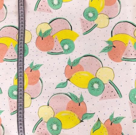 Tygbild - Mössa Frukter, Puderrosa #602