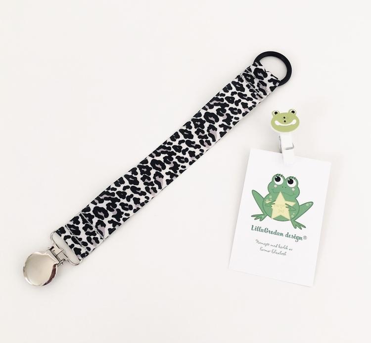 Leopard, GråSvart #N113 - Napphållare