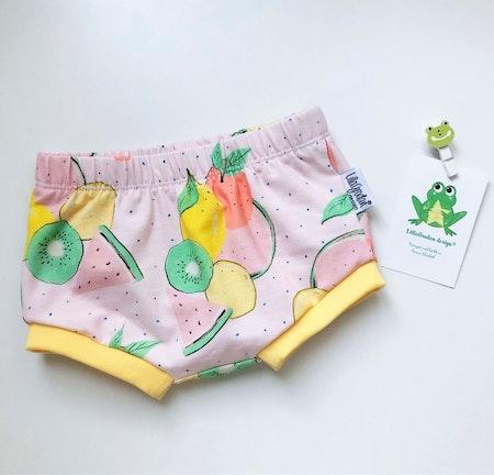 Frukter, Puderrosa - Bummies/Korta shorts, strl 74